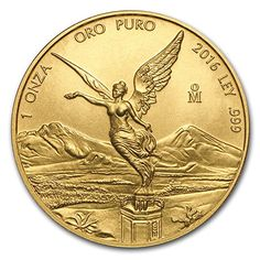 2016 MX Mexico 1 oz Gold Libertad BU 1 OZ Brilliant Uncirculated ** Want to know more, click on the image. Note: It's an affiliate link to Amazon