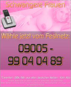 Telefonsex mit schwangeren Frauen