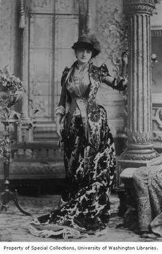 Helena Modjeska in the role of Nadjezda from a production of NADJEZDA, 1884