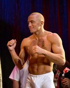 In time for his birthday, MMA UFC champion Georges St-Pierre has landed the role of Art in the Quebec-French language version of Disney-Pixar's Monster's University. With rumors swirling that the welterweight champ is planning two more fights before retiring, it's smart  for the man who has accomplished so much already at the age of 32 as he's already been in a handful of films.