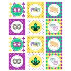 Bulletin Board Mardi Gras Printables by Wanessa Carolina    Mardi Gras themed printables include tags, cup or muffin wraps,  banner and paper!...