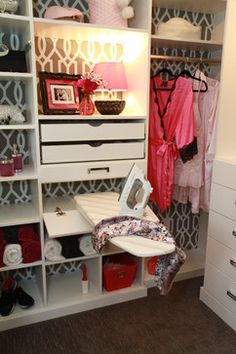 Pull Out Ironing Board Design Ideas, Pictures, Remodel and Decor from www.houzz.com by DIVINE DESIGNS .. . ♡;) ! !