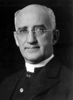 """Paulist Fr. James Gillis (1876 - 1957).  From 1922 to 1948, Gillis was editor of """"The Catholic World,"""" transforming it into a pulpit for social commentary.  Gillis was also a well-known radio commentator on WLWL and NBC, and authored a nationally syndicated newspaper column, """"Sursum Corda."""""""