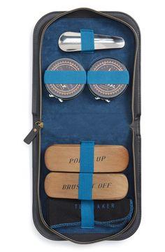 Ted Baker London 'Brogue' Shoe Shine Kit