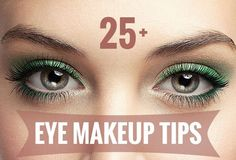 Helpful tips to make your eyes look beautiful and how to do it easily.