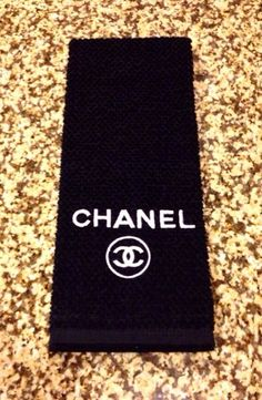 Hipster Chanel Posh Dishtowel