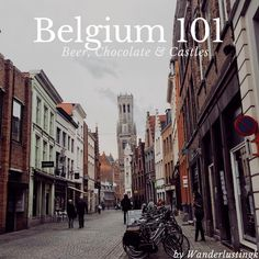 Belgium: home of fantastic, beer, chocolate, chocolate, and charming cities. I visited Brugge, Antwerp, and Ghent.   I cover some Belgian beers that you must try and the essential sights! More @ Wanderlustingk!
