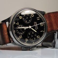 manchannel: 1940's Benrus Sky Chief Watch