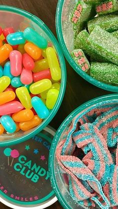 I love my Candy Club! This candy is amazing: Tropical Mike N Ikes + Watermelon Bricks + Cotton Candy Belts! : instagram.com/taliateal 