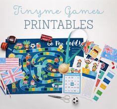 FREE Tinyme Games Printables ~ Tinyme