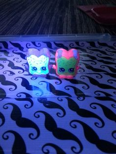 Glow in the dark shopkins