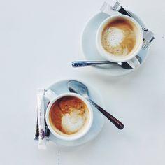 morning coffee / photo by Aran Goyoaga