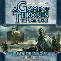 A Game of Thrones LCG: Kings of The Sea Expansion @ niftywarehouse.com #NiftyWarehouse #Nerd #Geek #Entertainment #TV #Products