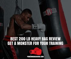 The 3 Best 200 lb Heavy Bag Review | Get a Monster For Your Training https://punchingbagsguide.com/200-lb-heavy-bag/ #heavybag #boxing