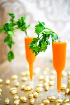 Drink Recipe - Carrot Orange Mimosas!