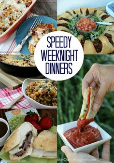 Speedy Weeknight Dinners | Recipes on PocketChangeGourmet.com