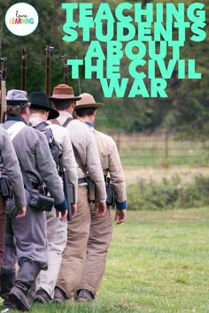 The Civil War is such an important part of American History, and this unit is the perfect way to teach it to your elementary or middle school students! It includes PowerPoint lessons, guided notes, and much more! Social Studies Lesson Plans, 5th Grade Social Studies, Social Studies Resources, Teaching Social Studies, Teaching History, Teaching Resources, History Education, Teaching Ideas, 8th Grade History