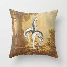 Go Emocional Throw Pillow by Collagevallente - $20.00