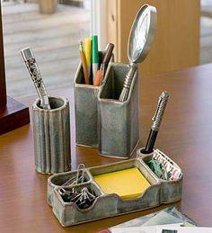 ceramic desk accessories