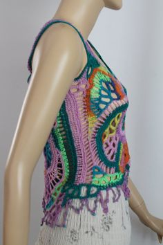 Ready to ship Boho Chic Gypsy Cotton Multicolor by levintovich