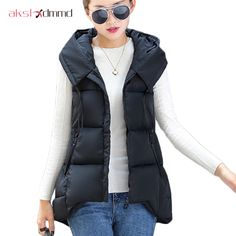 AKSLXDMMD 2017 New Fashion Design Autumn Winter Vest Women Colete Feminino Casual Waistcoat Sleeveless Jacket DX090