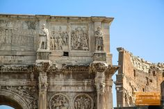 Arch of Constantine in Rome Italy — earthXplorer adventure travel photography