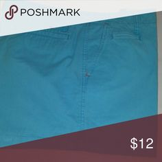 Tommy Hilfiger Tommy Hilfiger 4 inch chino.shorts.  good condition turquoise blue. Tommy Hilfiger Shorts