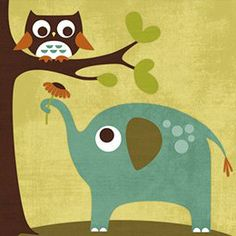 Barewalls has high-quality art prints, posters, and frames. Art Print of Owl and Elephant. Search 33 Million Art Prints, Posters, and Canvas Wall Art Pieces at Barewalls. Elephant Canvas Art, Elephant Poster, Elephant Nursery, Framed Art Prints, Poster Prints, Art Posters, Kunst Poster, Baby Owls, Owl Art