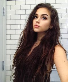 girl, maggie lindemann, and hair image Maggie Lindemann, Hairstyles For School, Cute Hairstyles, Braided Hairstyles, Black Hairstyles, Beauty Makeup, Hair Makeup, Hair Beauty, Makeup Style