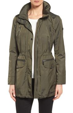 MICHAEL Michael Kors MICHAEL Michael Kors Hooded Anorak (Regular & Petite) available at #Nordstrom