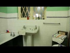 ▶ The 1940s House: The Bathroom and Toilet - YouTube