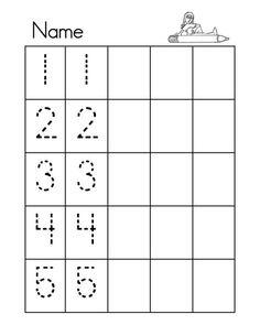 Grade R Worksheets, Shape Worksheets For Preschool, Number Worksheets Kindergarten, Numbers Preschool, Tracing Worksheets, Learning Numbers, Kids Learning Activities, Community Helpers Worksheets, Writing Numbers