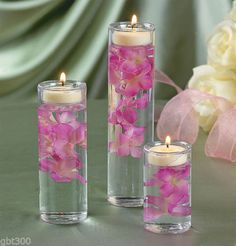4-3-Glass-Cylinder-Set-Tealight-Candle-Holders-Wedding-Table-Decor-Centerpiece