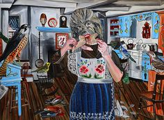 MORA 130x180 Paintings, Art, Art Background, Paint, Painting Art, Kunst, Performing Arts, Painting, Painted Canvas