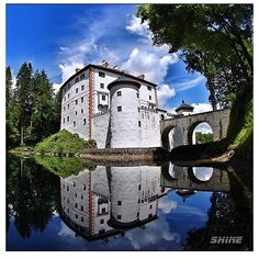 One of many beautiful castles, castle (or in our language - grad:) Snežnik. This great... | Use Instagram online! Websta is the Best Instagram Web Viewer!