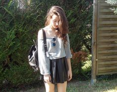 New post : http://fruityhappiness.blogspot.fr/2013/07/leather-skirt.html