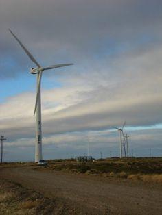parque eólico en comodoro rivadavia, chubut, argentina