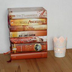 orange Bücher