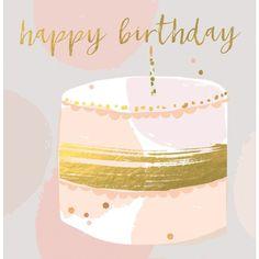Happy Birthday - Birthday - Greetings Cards - https://www.hammondgower.co.uk/greetings-cards/birthday/happy-birthday-18356.html