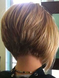 8.Short Stacked Bob Cut