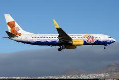 """TUIfly """"Bäeren Marke"""" Boeing 737-8K5 @ ACE"""