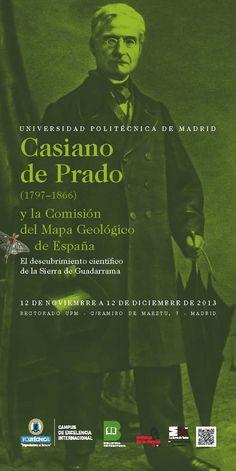 Casiano de Prado (1797-1866) y la Comisión del Mapa Geológico de España. Exposición. en http://serviciosgate.upm.es/nosolotecnica/?p=19443
