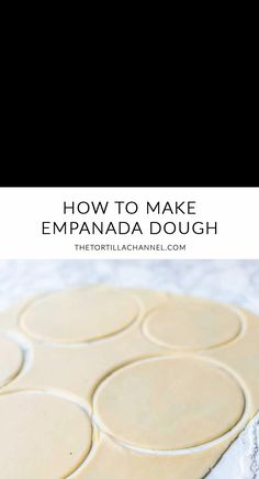 Want to learn how to make homemade empanada dough? Try this easy empanada dough recipe. You can make it by hand or with a kitchen machine. crust recipe easy videos food processor How to make empanada dough Empanadas Recipe Dough, Baked Empanadas, Easy Empanada Recipe, Pastry Dough Recipe, Puff Pastry Recipes, Mexican Dishes, Mexican Food Recipes, Sweet Recipes, Masa Recipes