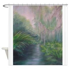 WASHINGTON OAKS REVISITED Shower Curtain > WASHINGTON OAKS REVISITED > Patty Weeks Gallery