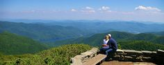 10. Craggy Pinnacle Overlook, Blue Ridge Parkway - hikes in NC