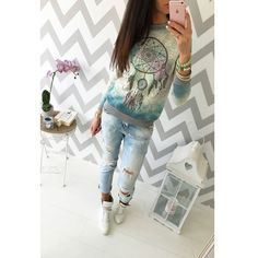 2017 Autumn casual t shirt women round neck long sleeve shirt ethnic floral feather printed women tops blusa female t-shirt