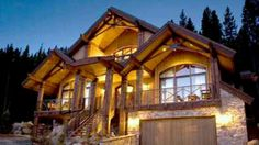 Smell the fresh mountain air and gaze out at surrounding mountains from lodge-inspired HGTV Dream Home 2007 in Winter Park, Colorado. Dream Home Gym, Dream Home Design, House Design, Cabin Homes, Log Homes, Cabana, Hgtv Dream Homes, Colorado Homes, Mountain Homes