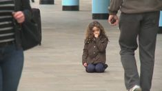 Little Girl Lost: More than 600 people ignore lost child in TV experiment | PLEASE be that one person who would help in a real-life situation.