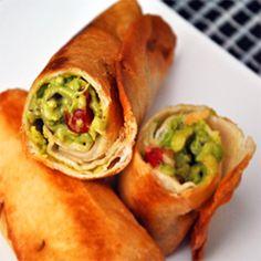 Crispy Guacamole Rolls