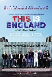 This Is England (2006)  Shane Meadows' masterpiece. I love anything he does, but this one takes it all. Nostalgic, sweet and brutal all at the same time. The kid in this film is one of my favorite kids to watch on screen.